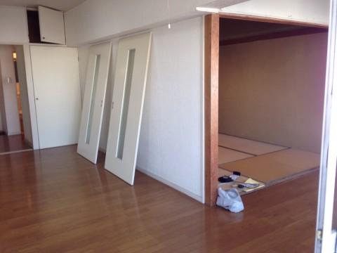 リビング+和室